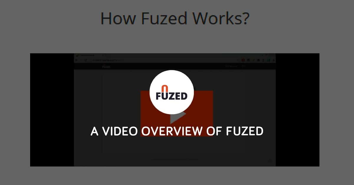 A Video Overview Of Fuzed - Fuzed