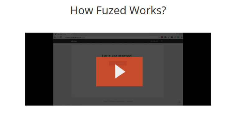 A Video Overview Of Fuzed