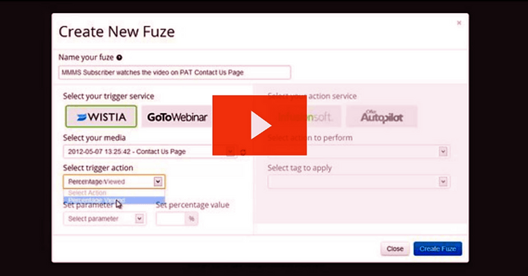 How To Use Wistia With Fuzed - Fuzed
